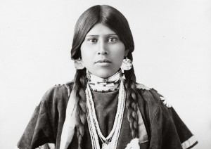 Woman of the Yakima Nation, Seattle, Wash., 1899